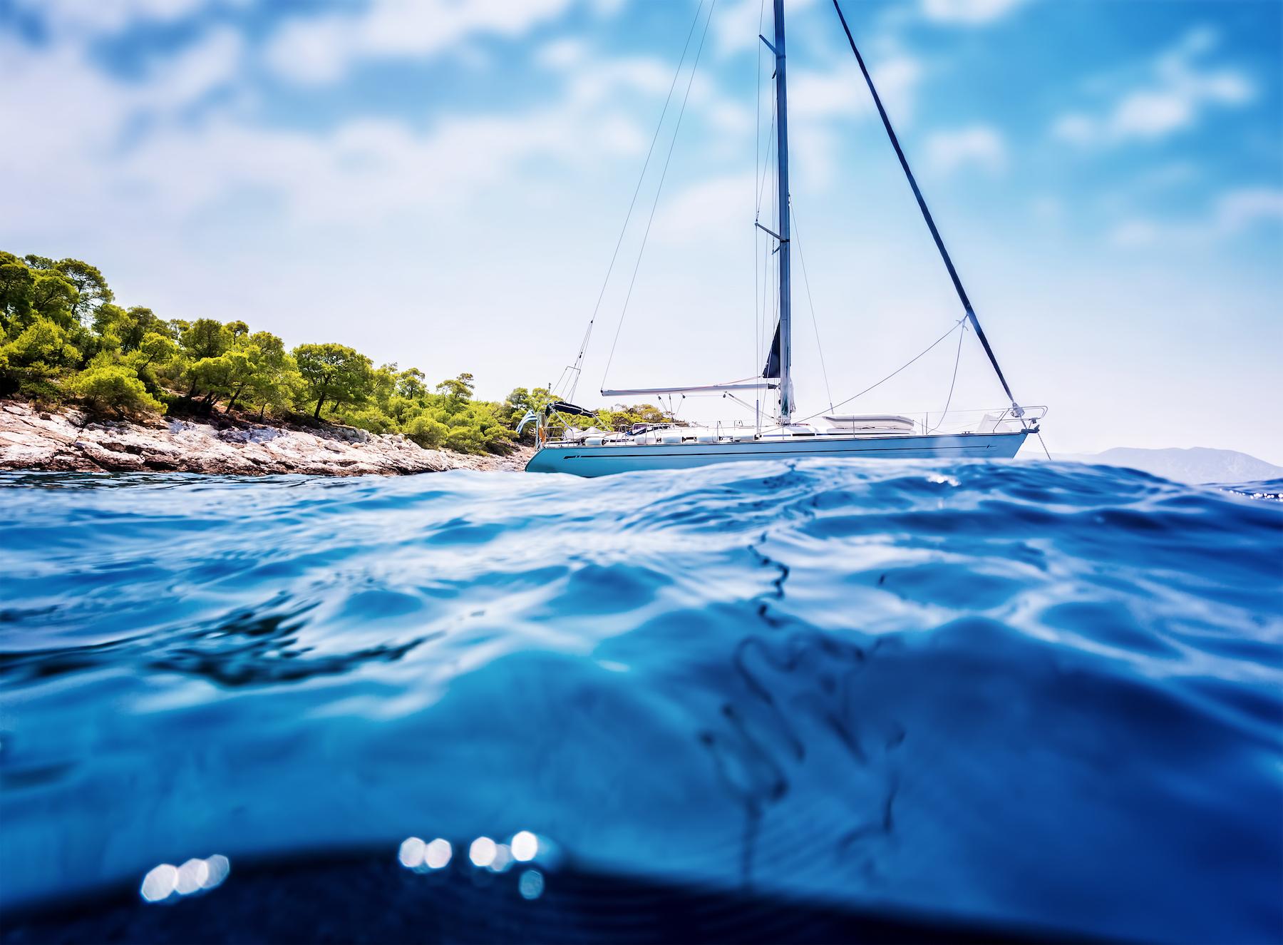 Luxury-sailboat